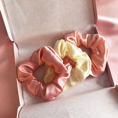 Classic Scrunchie Gift Set- Choose Your Colours