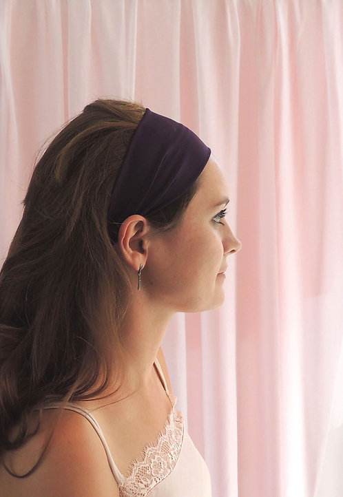 Amethyst Silk Anya Headband