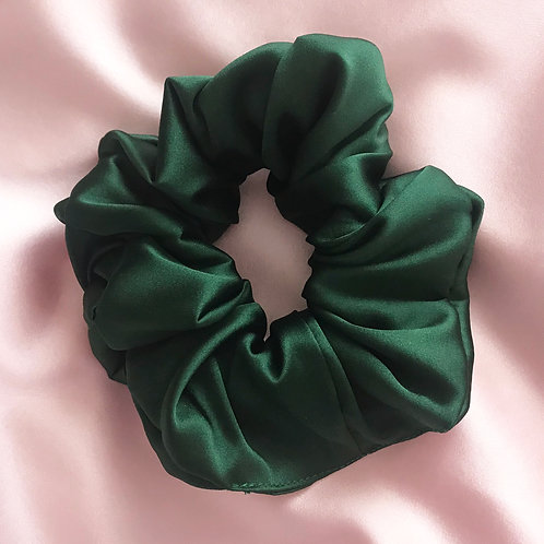 Emerald Silk Astrid Super Scrunchie