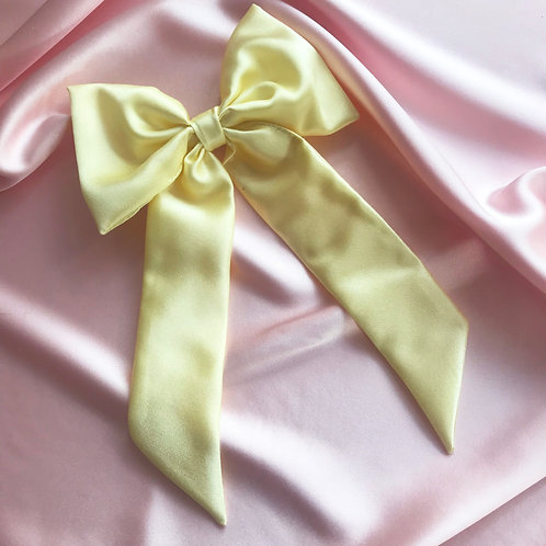 Lemonade Silk Euphrasie Hair Bow