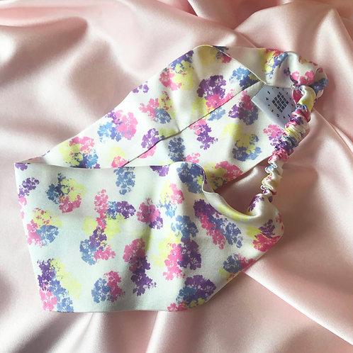 Floral Print Silk Anya Headband