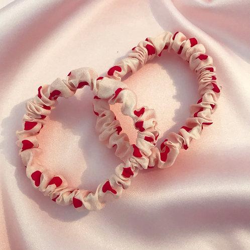 Heart Print Relevé Hair Elastic