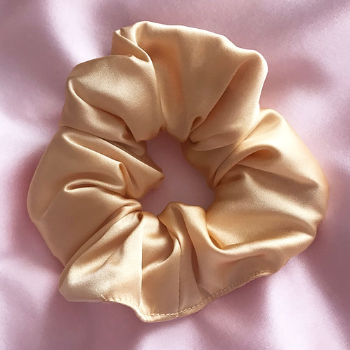 Gold Silk Astrid Super Scrunchie