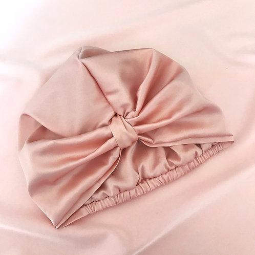 Oyster Pink Silk Capuchon