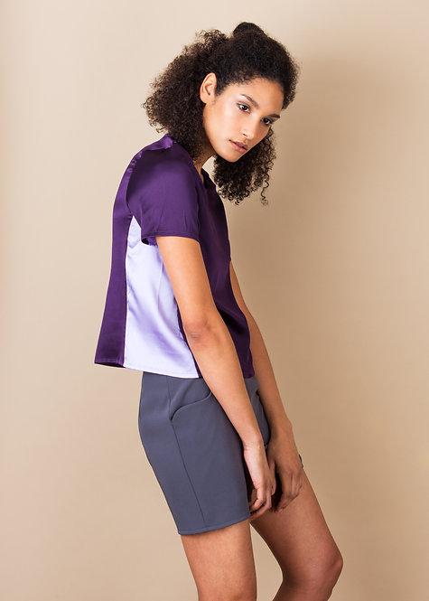 Ayumi T Shirt Amethyst