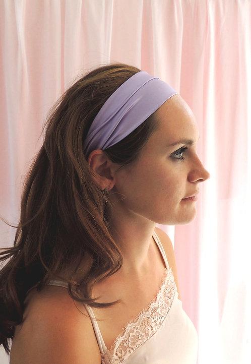 Lilac Silk Anya Headband