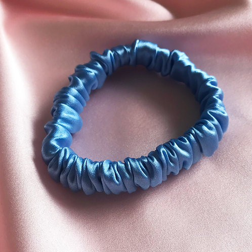Pale Blue Relevé Silk Hair Elastic
