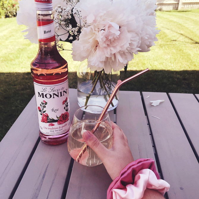 How to make a rose spritz for summer