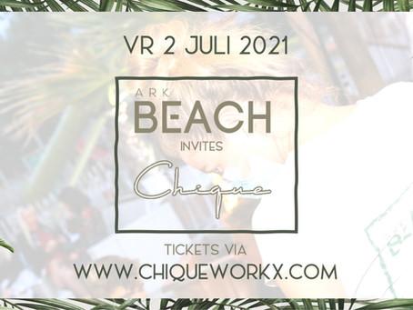 Ark Beach invites Chique