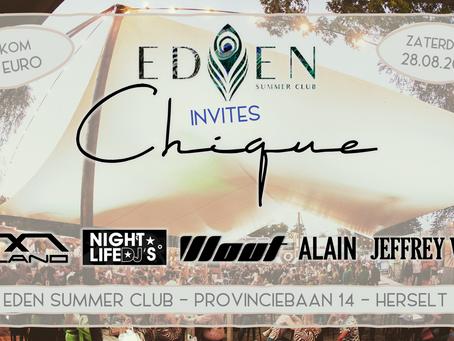 Eden invites Chique