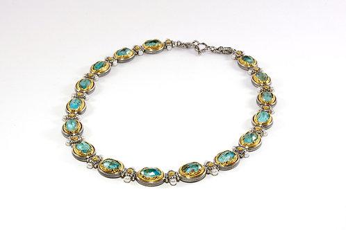 Victorian Ornate Oval necklace