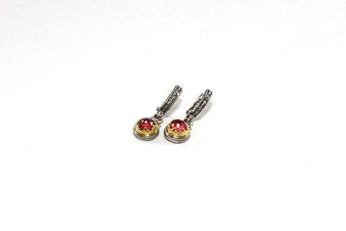 Princess Ruby earrings