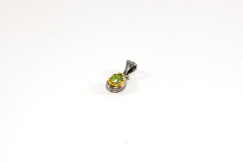 Snake heads pendant