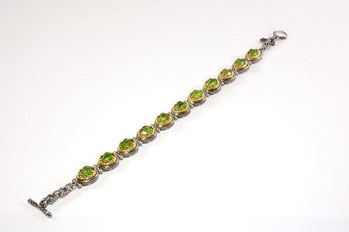 Snake heads bracelet