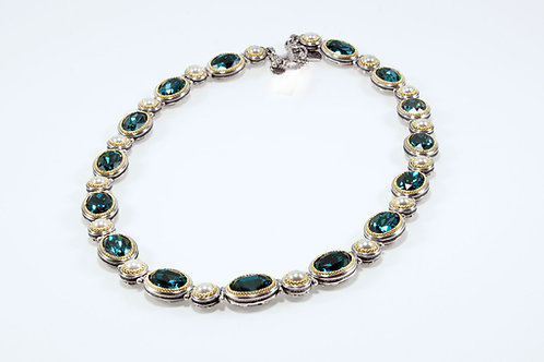 Sea Dream Topaz necklace
