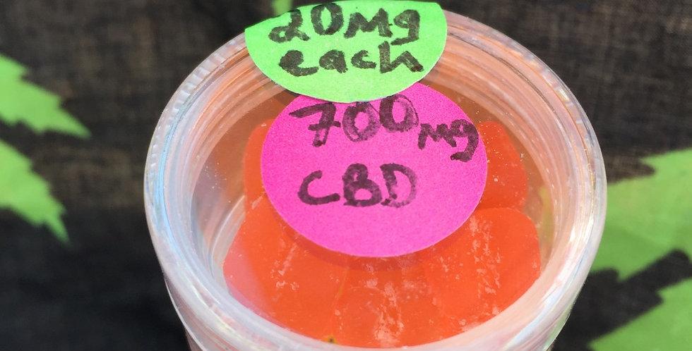 700 mg CBD  Gummies