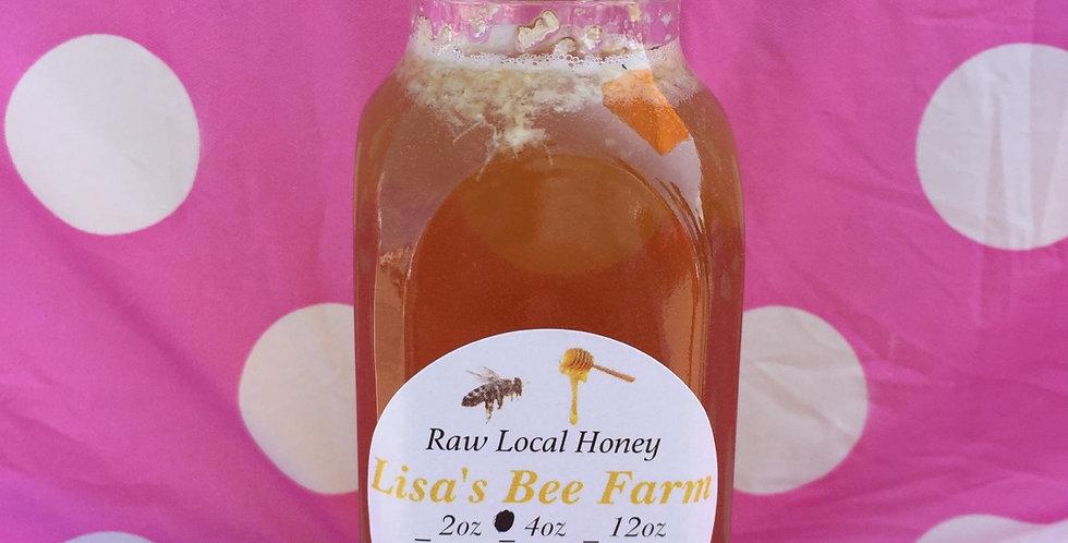 4oz Violet Honey Local Raw