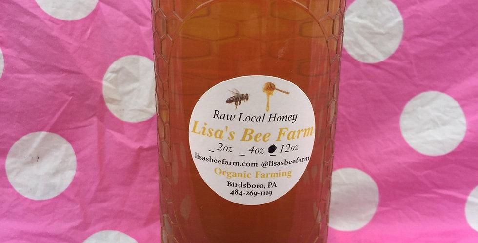 12oz Violet Honey Local Raw