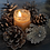 Thumbnail: Beeswax Sweet Honey Candle small