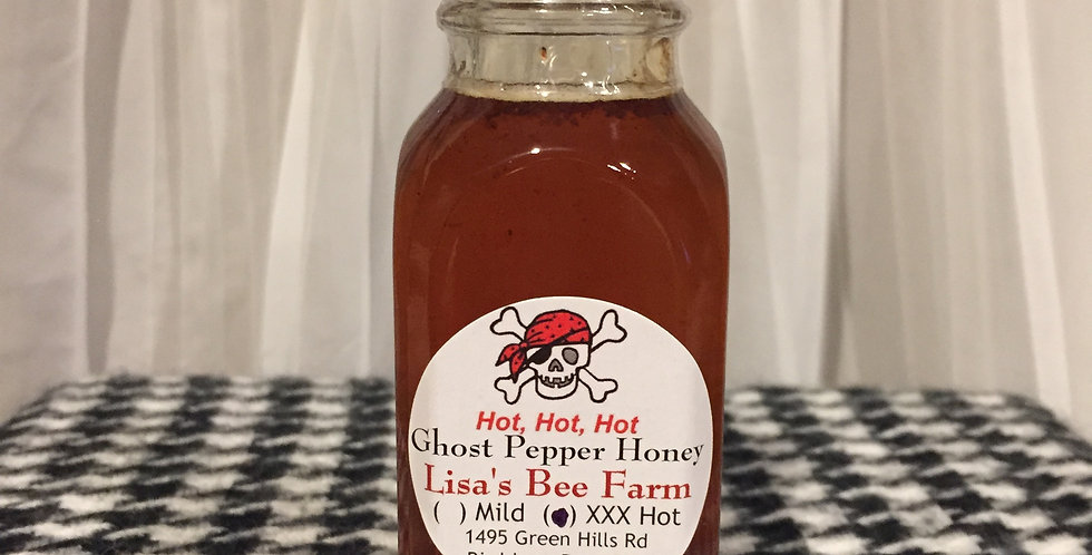 4oz XXX Ghost Pepper Honey