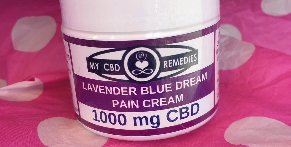 1000mg Lavender CBD Cream