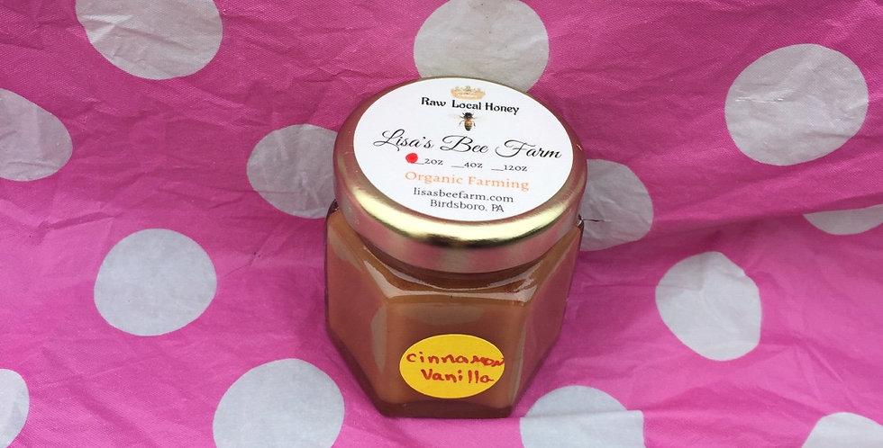 2oz Cinnamon Vanilla Honey Local Raw