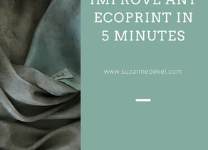 How-to; Improve any eco print in 5 minutes