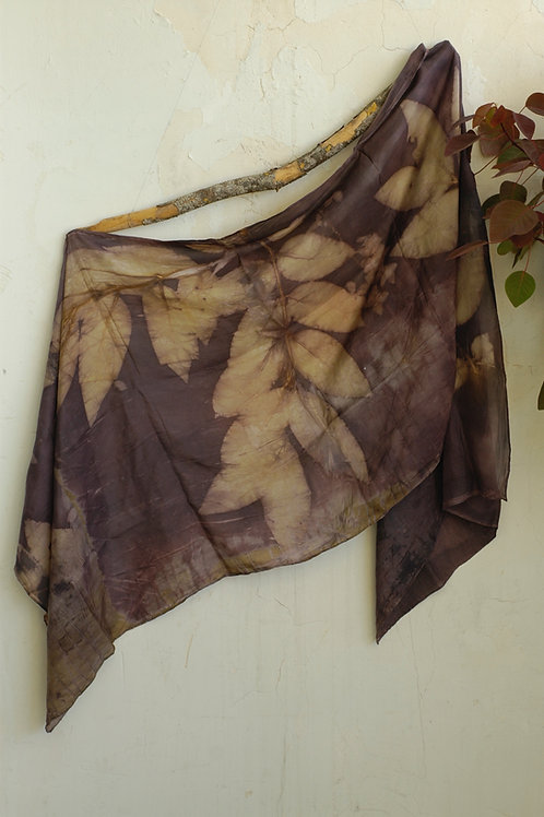 Charcoal wrap with Golden Rain
