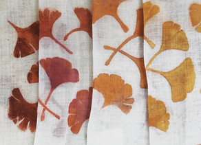 Printing with natural dyes