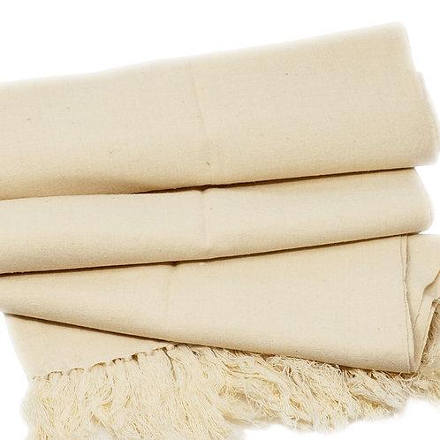 Handwoven Cruelty Free Eri Silk Scarf  60-180
