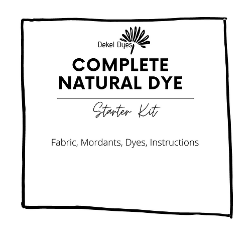 The complete starter kit to dye silk (red, orange,yellow)