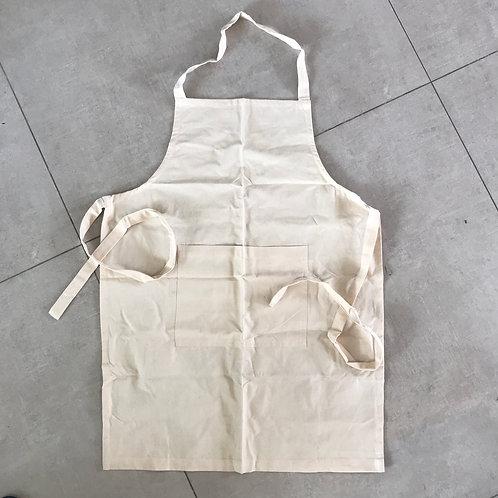 Organic Handwoven Cotton Apron (Fairtrade)