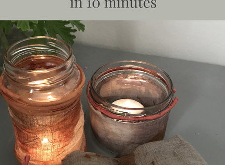10 minute DIY project with scraps