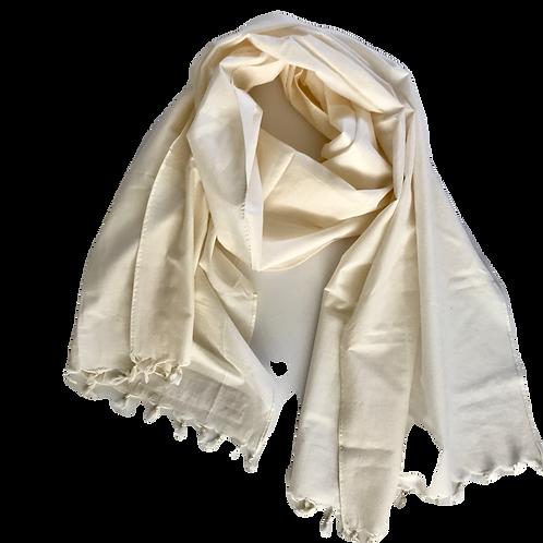 Handwoven XL Cotton Scarf
