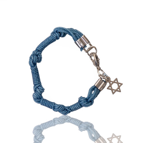 The Blue Bracelet with Star of David