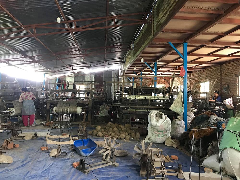 Nettle cloth weavers in nepal
