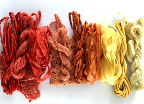 Fermentation and Solar Dyeing, the ultimate slow dye.