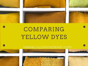 7 Different Natural Yellows And An Iron Test