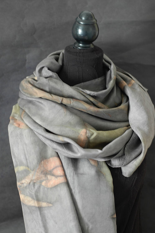 Charcoal and red eucalyptus wrap