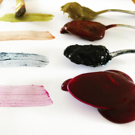 natural dye pastes