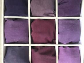 Shade Card Natural Dyes