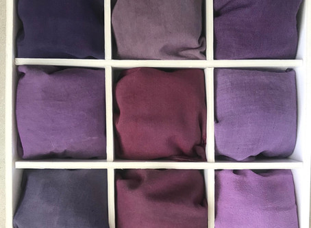 Shade Card Natural Dyes