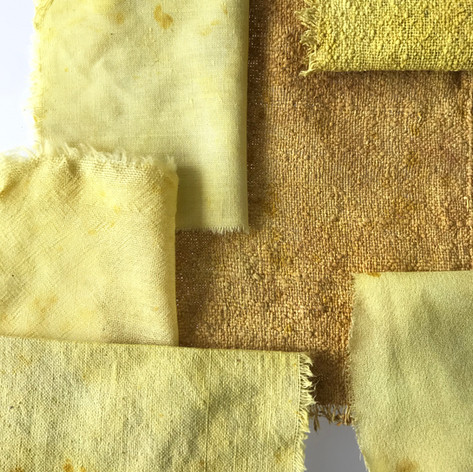 natural dyes experiments and research