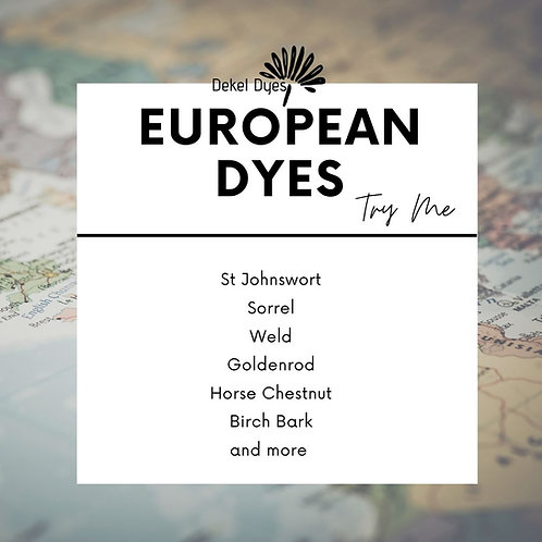 Try Me - European Dyes Sample pack