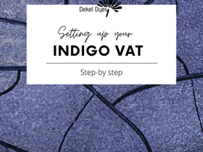 Setting Up A Hydros Indigo Vat
