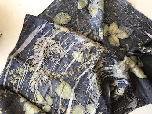 Silk satin stole
