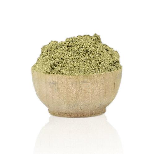 organic green indigo