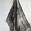 Thumbnail: No 52. Silk scarf with eucalyptus and rust