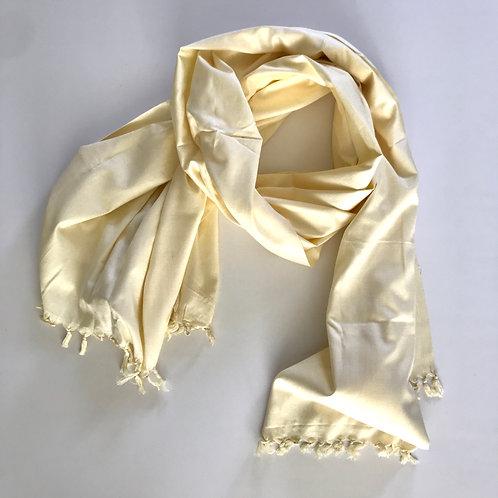 Handwoven Mercerized Cotton Scarf