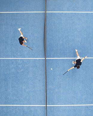 Tennisspiel